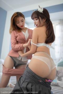 [秀人网XiuRen] N01973 养眼网红签约模特双人香艳室内写真美图合集 73P
