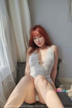 [秀人网XiuRen] N02026 圆润丰满多水粉鲍美媛王雨纯优雅白色情趣内衣风情魅力写真 67P