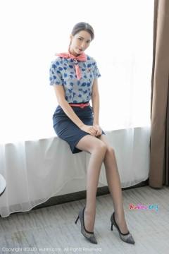 [秀人网XiuRen] N02018 成熟风韵美少妇Carry紧身包臀内衣制服私拍写真 36P