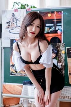 [秀人网XiuRen] N02066 秀气长发江南宝贝沈梦瑶齐b包臀超短裙唯美个人艺术私房 39P