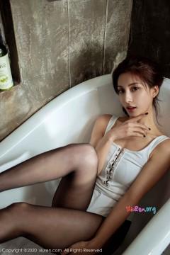 [秀人网XiuRen] N02057 颜值时尚乖乖女林文文yooki浴室风情黑丝连体泳衣私拍 61P