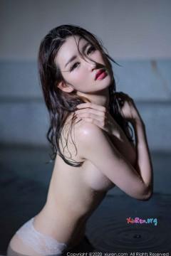 [秀人网XiuRen] N02116 秀美婉约江南女模沈梦瑶湿身白色蕾丝内衣精致典雅唯美私拍 40P