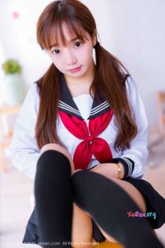 [秀人网XiuRen] N02196 粉嘟嘟可爱新人嫩模团团子_una纯情心跳回忆秀雅制服写真 59P