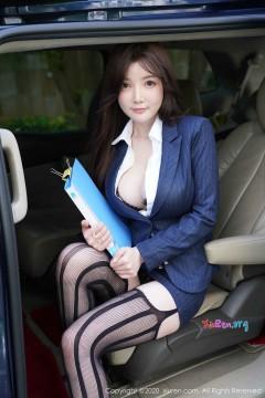 [秀人网XiuRen] N02209 年轻多水翘臀秘书糯美子Mini户外勾魂露出风情内衣写真 108P