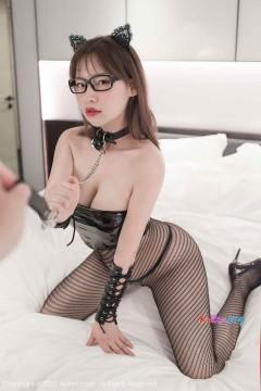 [秀人网XiuRen] N02481 巨乳肥臀骚气眼镜娘范小宣fancy火爆情趣丝袜典雅人体写真 55P