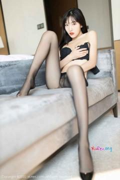 [秀人网XiuRen] N02604 人气美腿宝贝陆萱萱宾馆情趣丝袜充血优雅写真集 64P