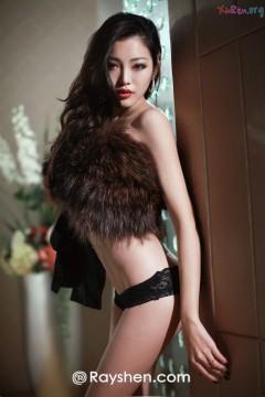 [Rayshen] 翘臀艳丽时髦女郎蕾丝情趣内裤性感至极
