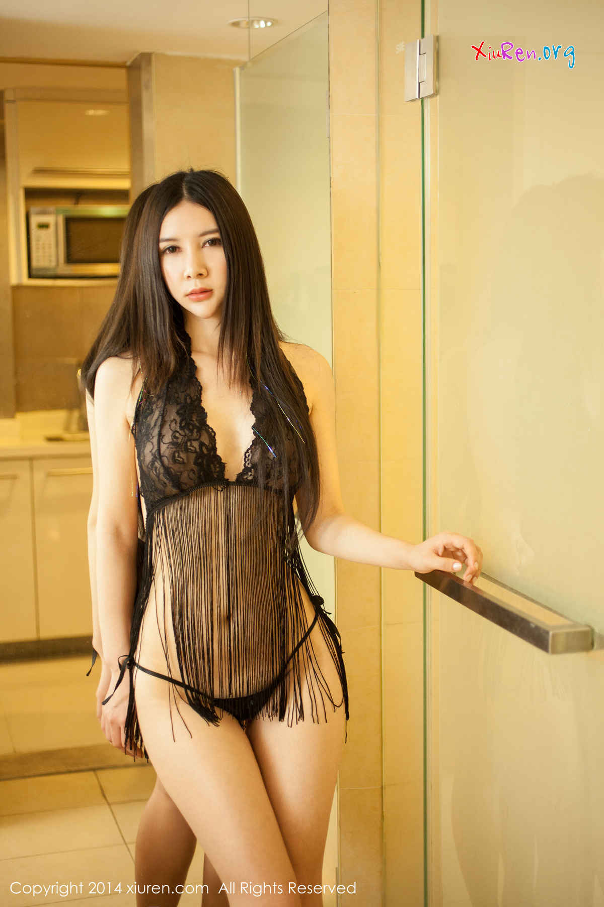 Gu Xinyi 顾欣怡 Uncensored See Through : XiuRen Model No.127 | GravureGirlz